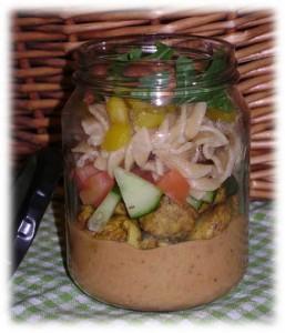 Moroccan Salad Jar